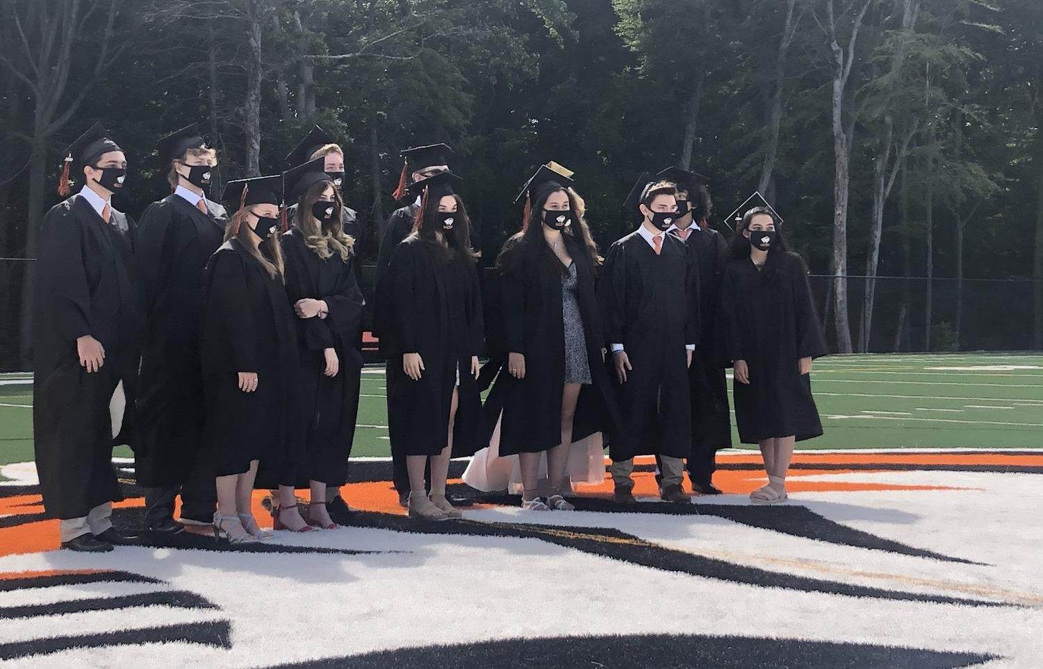 Special Summer Report: First GCDS Seniors Graduate In-Person Amid Eased Health Restrictions  [photos]