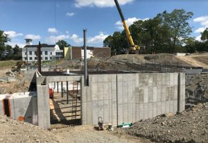 Construction Continues on Track for New Upper School Building [exclusive photos on-location]